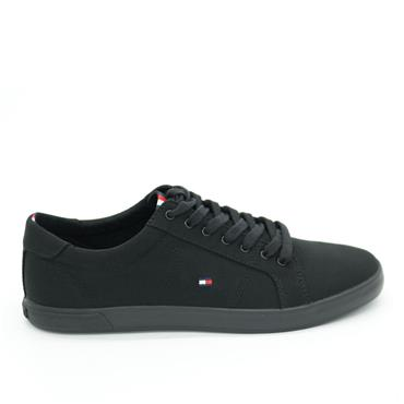 Tommy Iconic Long Lace - BLACK