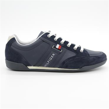 Corporate Material Mix Cupsole - MIDNIGHT