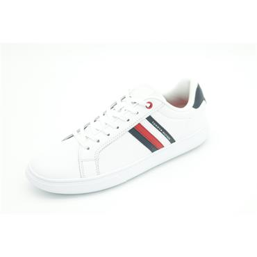 Tommy Essential Mesh Runner - WHITE