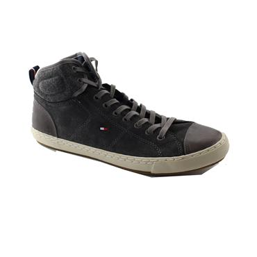 HILFIGER LACE UP CASUAL - METAL