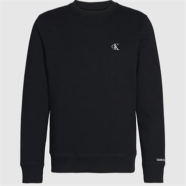 CK Essential Reg Crew Neck - BLACK