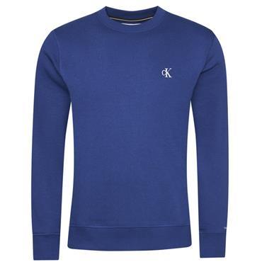 CK Essential Reg Crew Neck - BLUE
