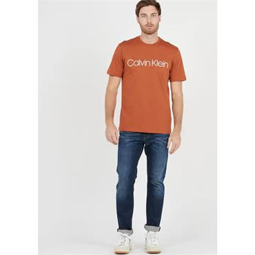 Cotton Front Logo T-Shirt - Ginger