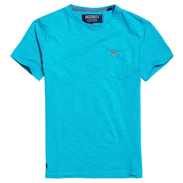 DRY ORIGINAL POCKET TEE  S/DRY - BLUE