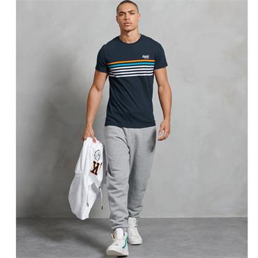 Superdry Orange Label Weekender Tee - Navy