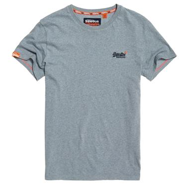Orange Label Vintage Emb S/s Tee S/DRY - Blue Grit