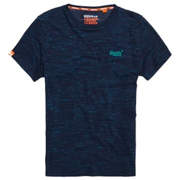 ORANGE LABEL VINTAGE EMB. TEE S/DRY - Beach Blue