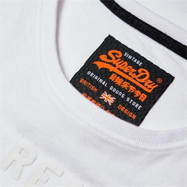 Vintage Logo Monochrome Tee - OPTIC WHITE