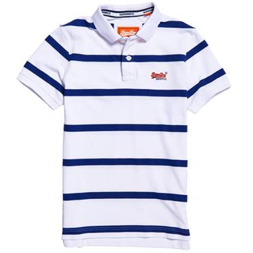 BEACH VOLLEYBALL POLO  S/DRY - OPTIC WHITE