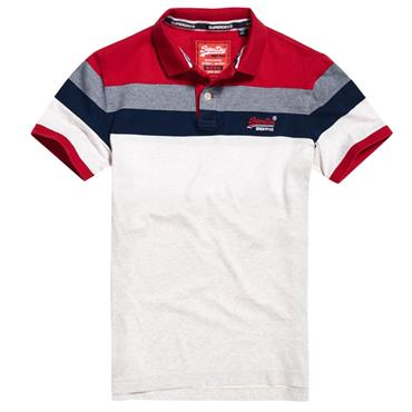 MIAMI FEEDER POLO   S/DRY - RED
