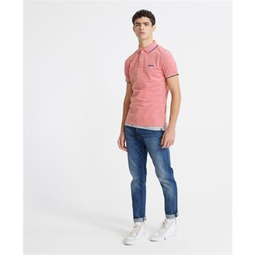 Superdry Poolside Polo - PINK