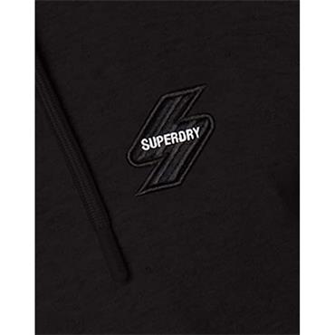 Superdry Zip Hoodie - BLACK