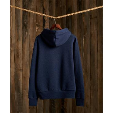 Superdry Overhead Hood - BLUE