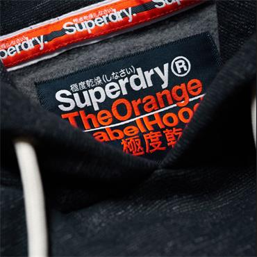 ORANGE LABEL OVERHEAD HOODY S/DRY - Navy