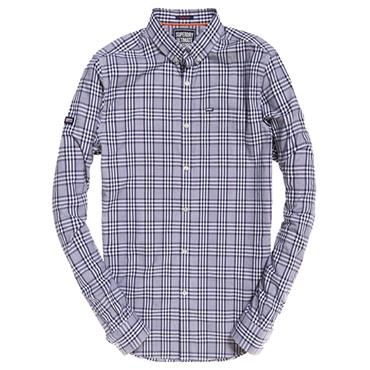 ULTIMATE UNIVERSITY OXFORD SHIRT S/DRY - BLUE CK