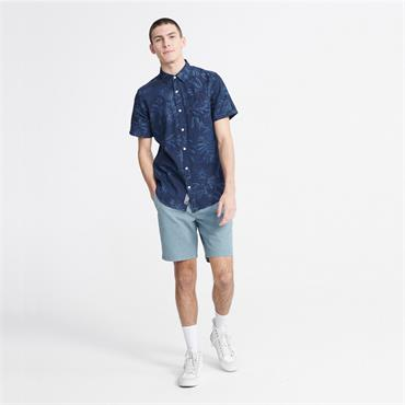 Superdry Miami Loom Shirt - INDIGO