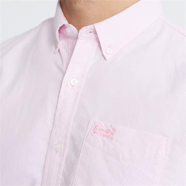 Superdry Oxford S/s Shirt - PINK