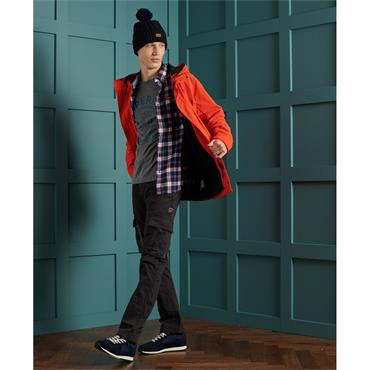 Superdry Heritage Navy Check - NAVY CHECK