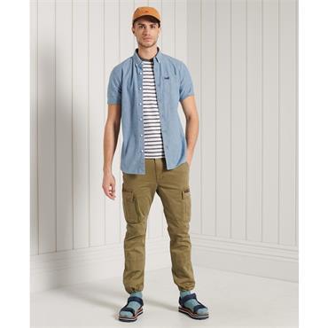 S/S Classic Oxford Shirt - INDIGO