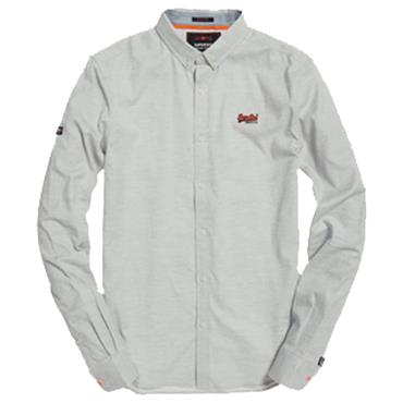 PREMIUM BUTTON DOWN SHIRT  S/DRY - GREY