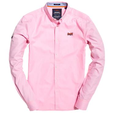 PREMIUM BUTTON DOWN SHIRT  S/DRY - PINK