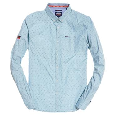 PREMIUM SHOREDITCH SHIRT  S/DRY - BLUE