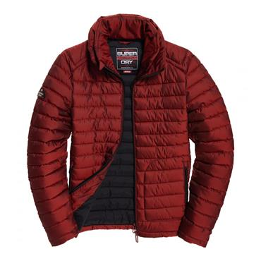 Double Zip Fuji - Dark Red