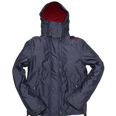 ARCTIC WINDCHEATER POP ZIP HOOD S/DRY - INDIGO
