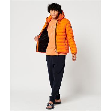 Classic Fuji Puffer Jacket - ORANGE