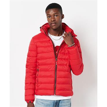 Classic Fuji Puffer Jacket - RED
