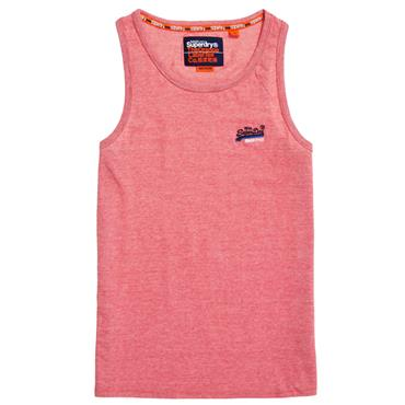 ORANGE LAB VIN EMB VEST  S/DRY - RED