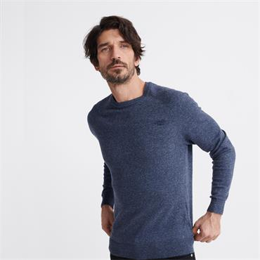 Superdry OL Cotton Crew - BLUE