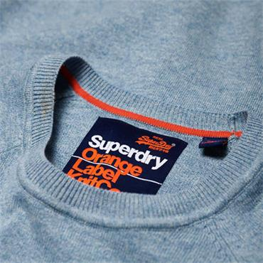 ORANGE LAB COTTON CREW JUMPER S/DRY - PARC/BLUE