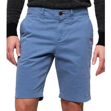 INTER.SLIM LITE CHINO SHORT  S/DRY - NEPTUNE