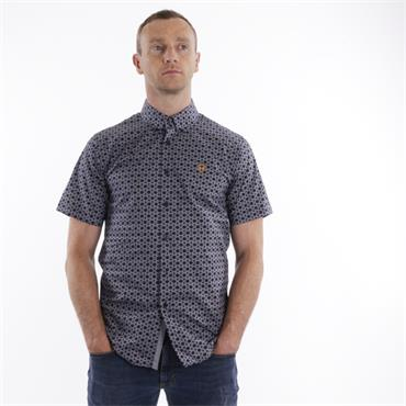 Xv Kings Print Shirt - Navy