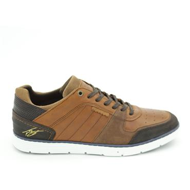 Tommy Bowe Casual Trainer - Umber