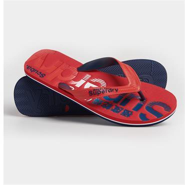 Classic Scuba Flip Flop - RED