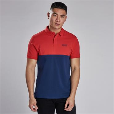 Barbour Cotter Polo - Re41 Red