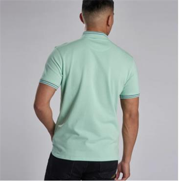 Barbour Tip Polo - Peppermint