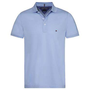TOMMY SLIM POLO S/S   HILFIGER - SERENITY