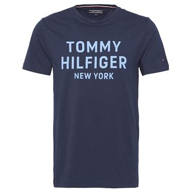 DASHING GRAPHIC TEE S/S   HILFIGER - 416 NAVY