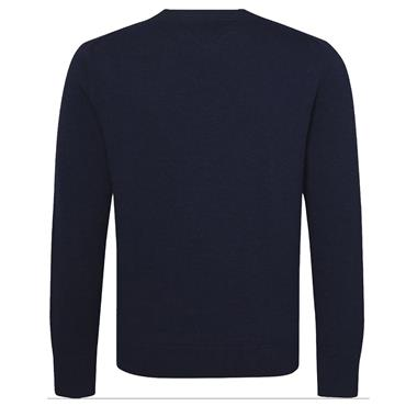 WOOL BLEND JUMPER HILFIGER - BLACK