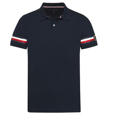ICON STRIPE  SLIM  POLO  HILFIGER - 403 SKY