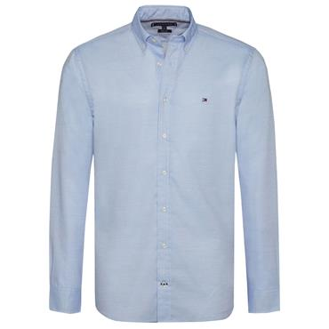 TWO TONE END ON END DOBB SHIRT  HILFIGER - 902REGATTA