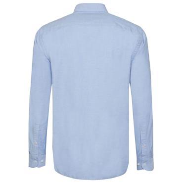 OXFORD ORGANIC  SHIRT  HILFIGER - 474 Blue