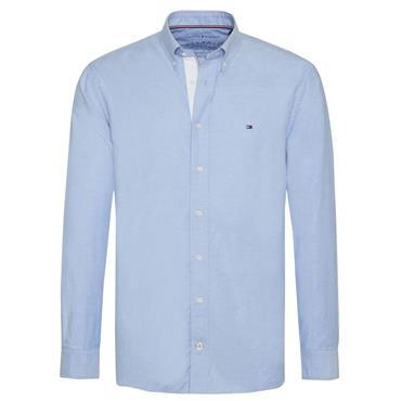 OXFORD ORGANIC  SHIRT  HILFIGER - 474 Blue