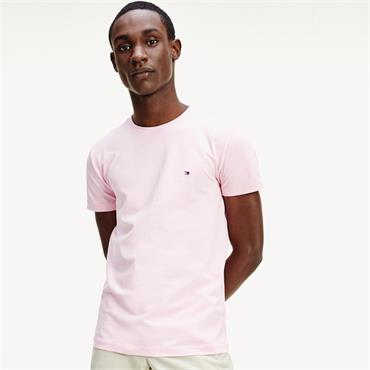 Tommy Hilfiger Slim Stretch Tee - PINK