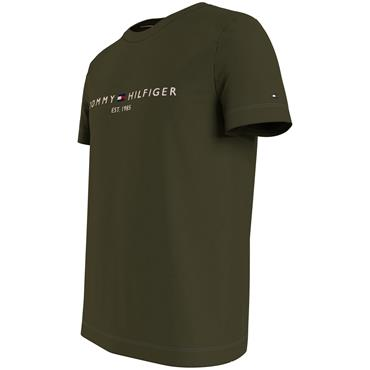 Tommy Logo Tee - OLIVE