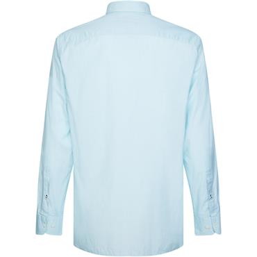 Tommy Hilfiger Soft End On End Shirt - OCEAN