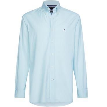 Tommy Hilfiger Soft End On End Shirt - OCEAN